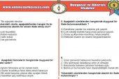 Duygusal ve Abartılı İfadeler İle İlgili PDF Test İndir