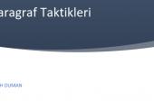 Fatih Duman-Paragraf Taktikleri PDF İndir