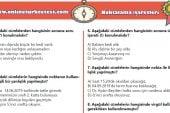 5. Sınıf Noktalama İşaretleri İle İlgili PDF Test