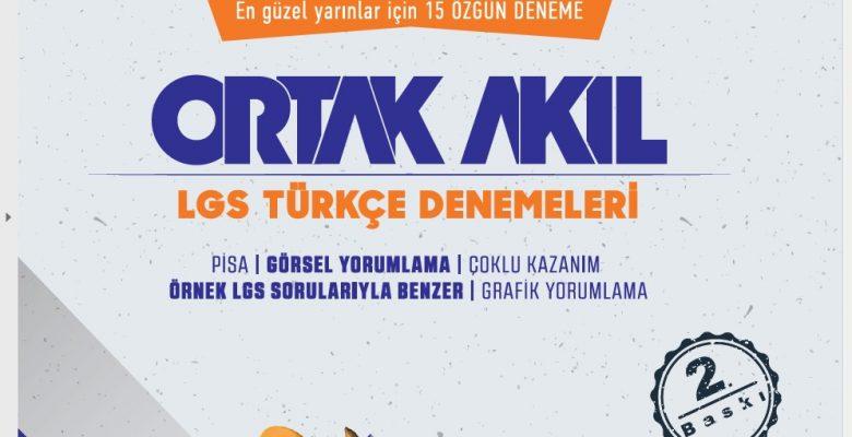 Ortak Akıl LGS Türkçe Deneme Sınavı-7 İndir