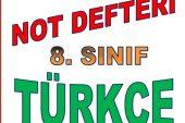 Türkçe Dersi Konu Özetleri Kitabı İndir