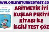 Aritmetik İyi Kuşlar Pekiyi Kitabı İle İlgili Online Test