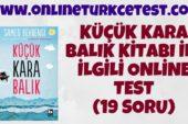 Küçük Kara Balık Kitabı İle İlgili Test (19 Soru)